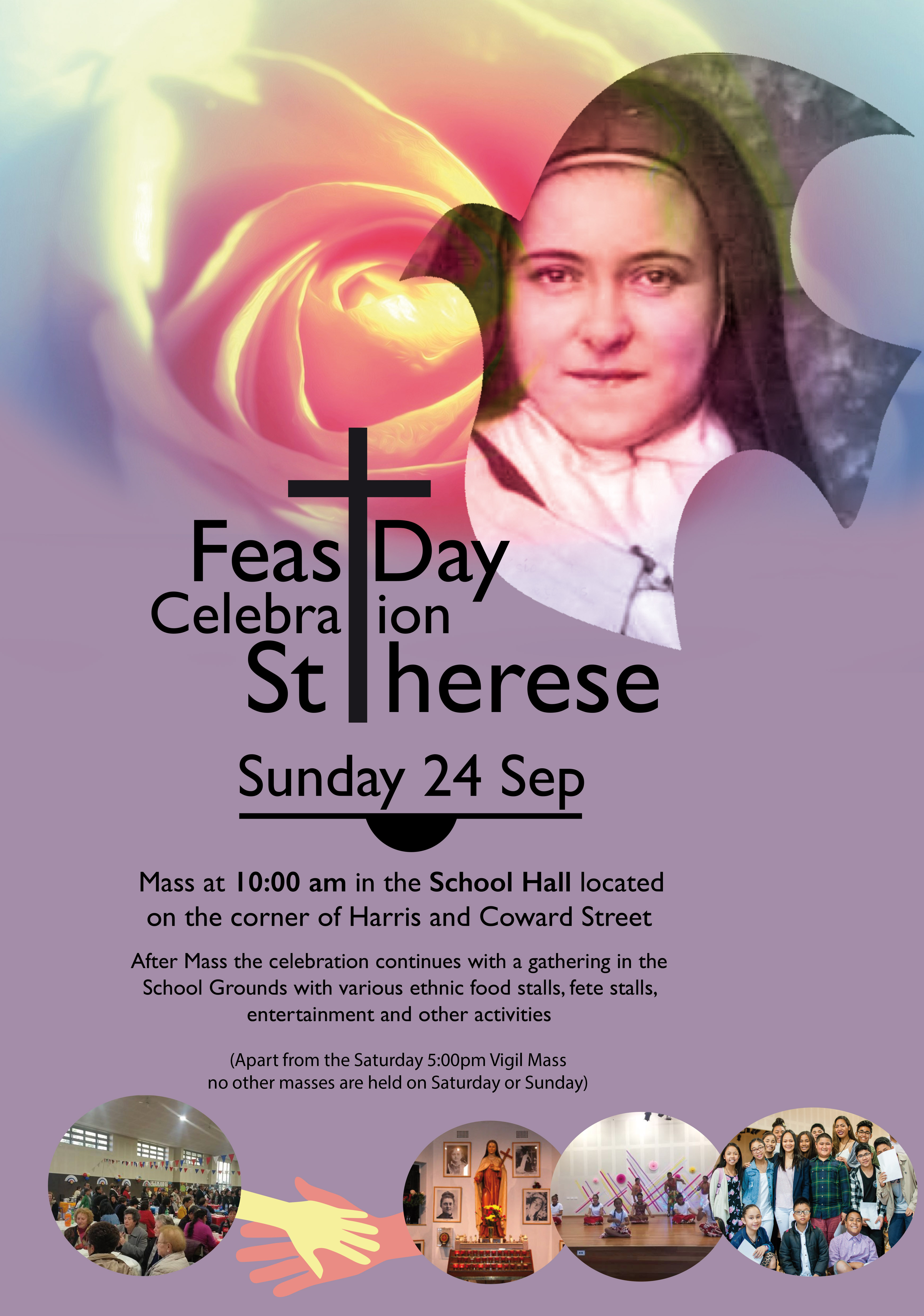 Feast Day Celebration of St Therese